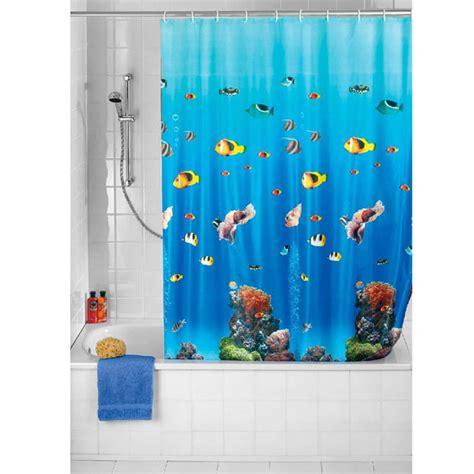 shower curtain ocean wenko ocean peva shower curtain 1800 x 2000mm 19122100