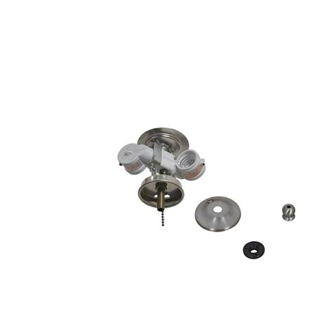 Air Cool Larson 52 In Brushed Nickel Ceiling Fan Ceiling Fan Light Kit Replacement