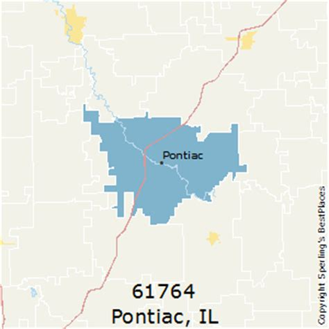 Pontiac Il Zip best places to live in pontiac zip 61764 illinois