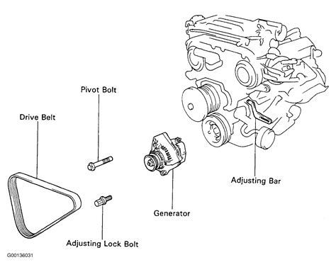 1994 toyota 4runner engine diagram 1994 toyota 4runner serpentine belt routing and timing