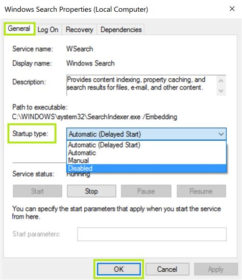 Lookup Windows How To Disable Windows Search In Windows 7 8 And 10