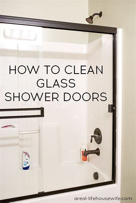 Top 28 How To Clean Shower Doors Best 25 Glass How To Clean Glass Shower Doors With Water Stains