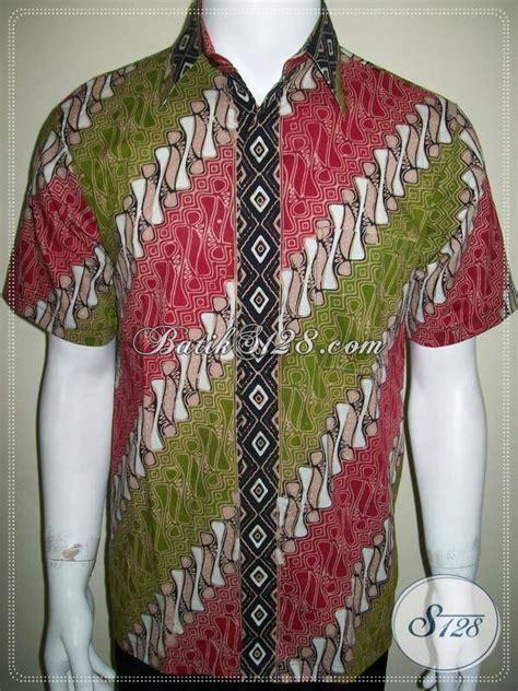 Rok Wiron Batik Ready Stock batik lengan pendek pria ready stock motif parang warna