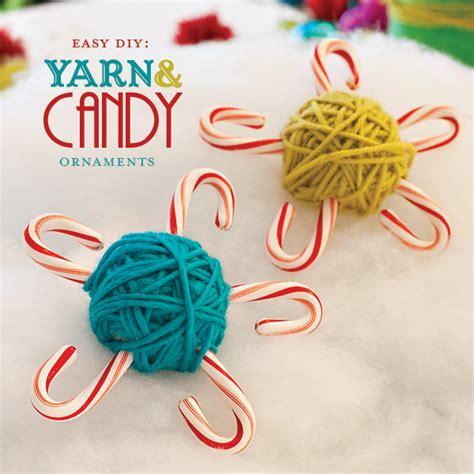 diy ornaments yarn diy yarn ornaments hostess with the mostess 174