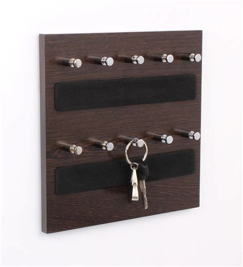 key holder wall regis wall mounted wenge small key holder hanging board by