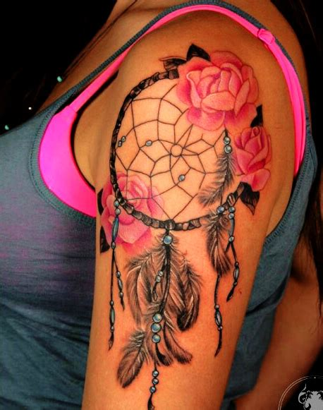 dreamcatcher tattoo boy 37 graceful dream catcher shoulder tattoos dream