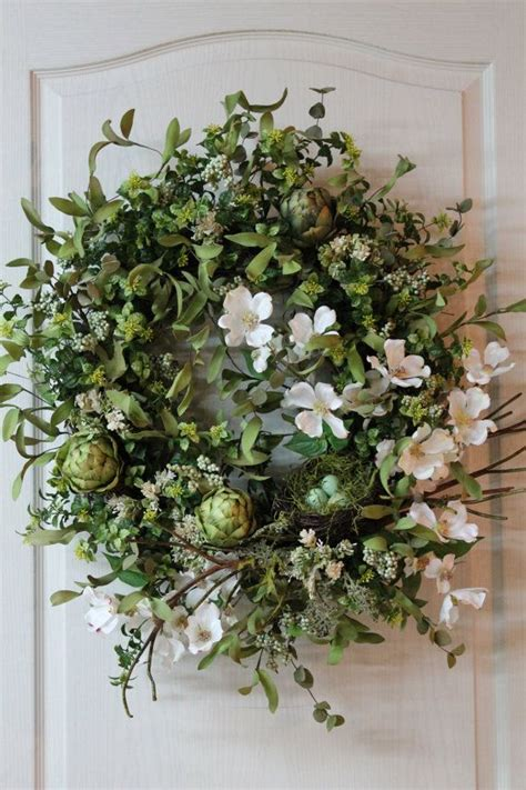 springtime wreaths elegant country spring summer door wreath beautiful lg
