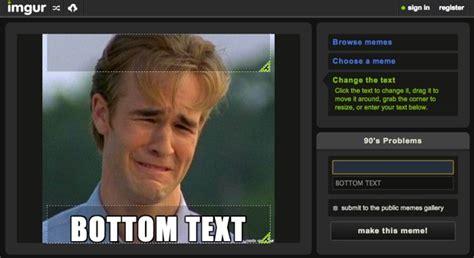 Imgur Meme Maker - welcome to memespp com