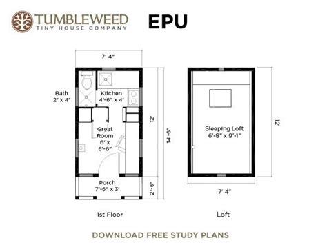tumbleweed tiny house floor plans kat s pins pinterest tumbleweed epu tiny house pinterest