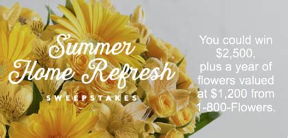 Real Simple Sweepstakes - real simple summer home refresh sweepstakes sun sweeps