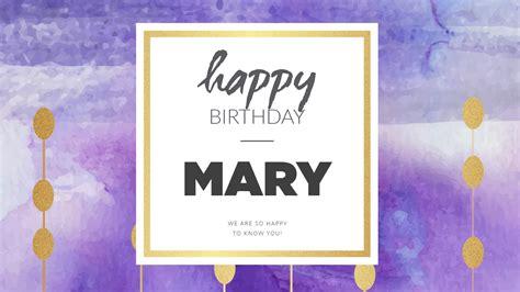 Happy Birthday Mary Images   Wishes, Cake Images & Memes