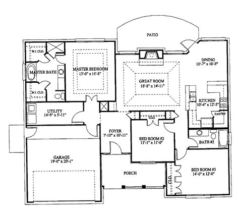 Three Bedroom Bungalow House Plans 301 moved permanently