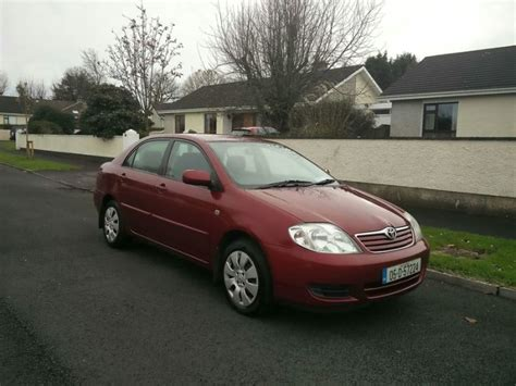 2005 Toyota Corolla Mpg 2005 Toyota Corolla For Sale In Castletroy Limerick From Jimd