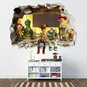 toy story home decor toy story smashed wall sticker bedroom boys disney vinyl