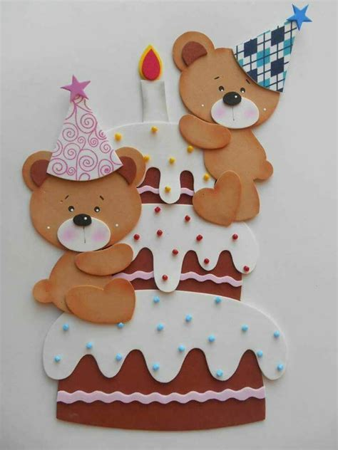 imagenes navideños en foami osos en foamy o goma eva para panel de cumplea 241 os dale