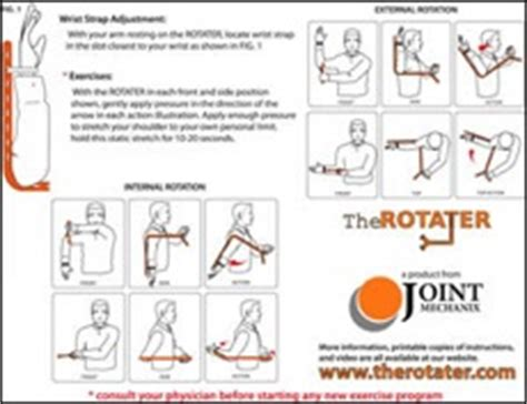 printable exercise instructions printable instructions for using the rotater