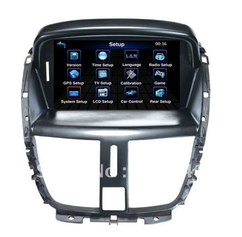 peugeot 207 cc accessories car dvd for peugeot 207 with gps car radio audio all basic