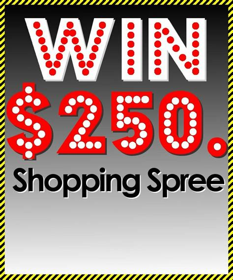 Lucky Shops Giveaway by Enter 2 Win 250 Shopping Spree Giveaway Metropolis