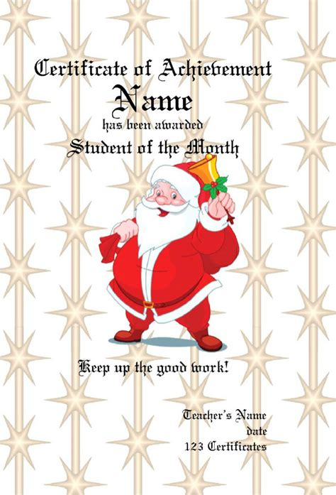 6 christmas gift certificate template free download cio resumed