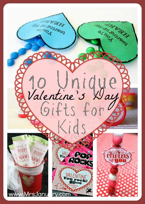 unique valentines gifts 10 unique valentine s day gifts for kids