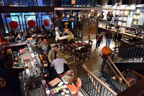 dinner opensquare restaurant review guy s american kitchen bar in times