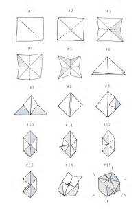 Lined Paper Origami - best 25 origami cube ideas on origami with