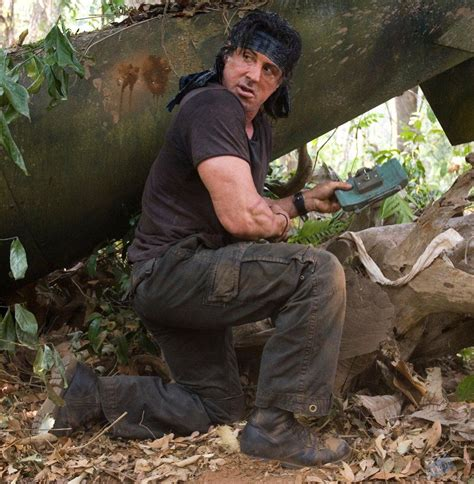 rambo film hero name rambo sylvester stallone hero m18 claymore mine movie