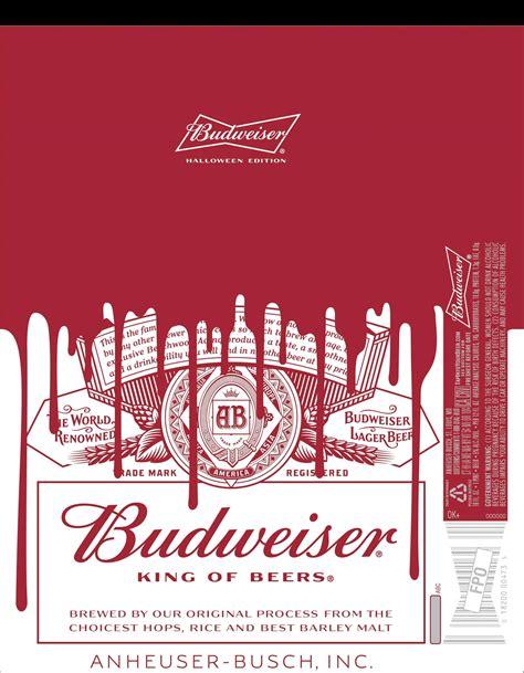 budweiser red light for sale new budweiser labels for halloween millercoors behind