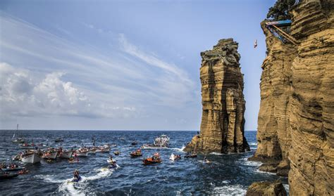 highest cliff dive bull cliff diving world series the amat