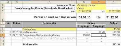 Vorlage Kassenbuch Schweiz Kassenbuch Excel Vorlage Kostenlos Mit Vereinsbuchhaltung Ch Linkorama Ch