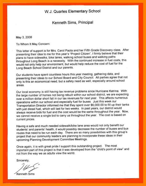 Asst Principal Cover Letter 10 Letters To Principal Producer Resume