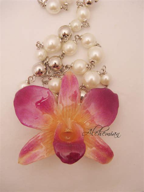 gioielli con fiori gioielli con fiori veri e resina