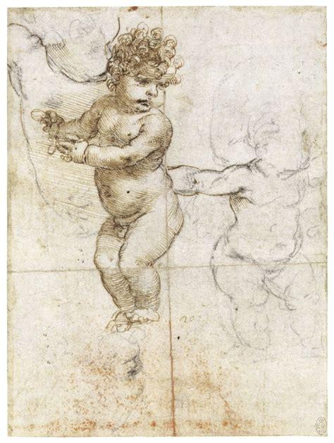 Sketches By Leonardo Da Vinci by Leonardo Da Vinci Sketch Of Baby Leonardo Da Vinci
