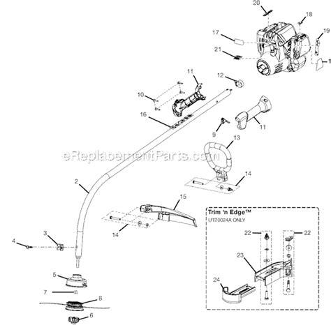 craftsman eater parts diagram craftsman weedwacker 17 quote 25cc parts craftsman