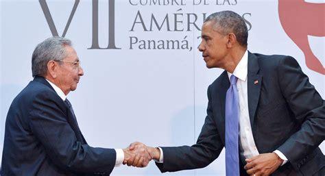 Obama S | milestone obama meets cuba s castro politico