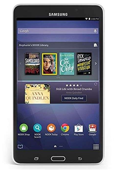 Samsung Tab 4 Nook samsung galaxy tab 4 sm t230nu nook 7 inch tabletninja
