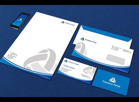 layout perusahaan sribu logo stationery designs desain logo kop surat da