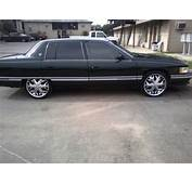 Cadillac DeVille Questions  Will 24 Inch Rims Fit 0n A