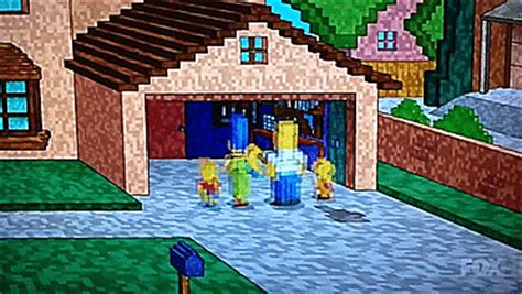 simpsons minecraft couch gag the simpsons neue folge mit minecraft couch gag