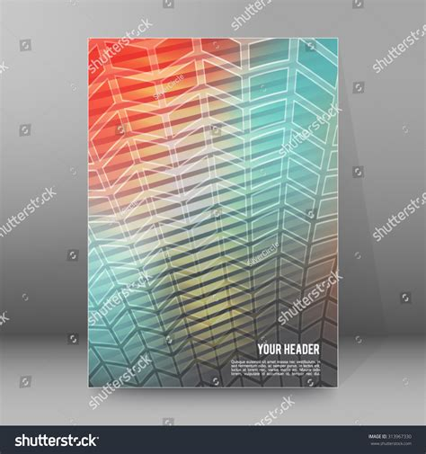 graphic design glass effect abstract background advertising brochure design elements