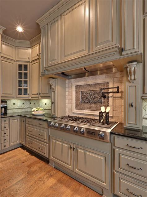 Beige Kitchen Cabinets Sw Accessible Beige 7036 High Gloss Color Kitchen Designs Cabinets And Kitchens