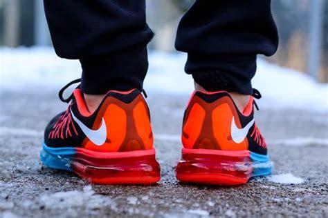 Sepatu Running Nike Airmax 2016 Black Import nike air max 2015 blue lagoon bright crimson