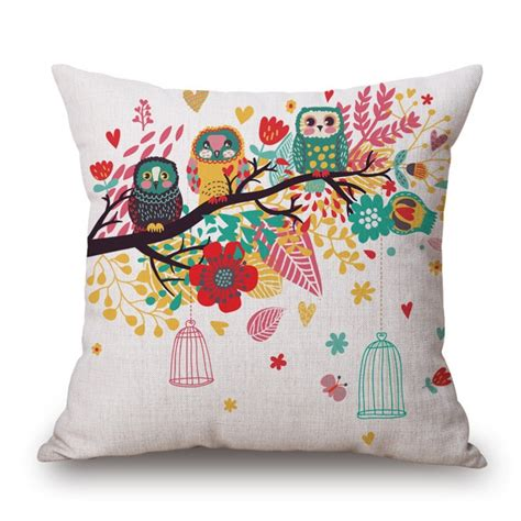 Printing On Pillows by Custom Printed Pillow Square Throws