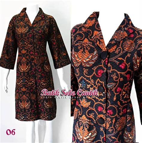model baju resmi baju batik resmi untuk kerja baju kerja batik