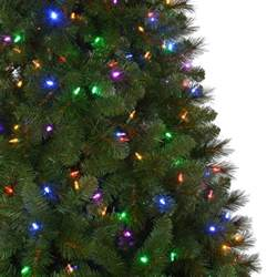 pre lit trees with led lights artificial tree 7 5 ft pre lit color