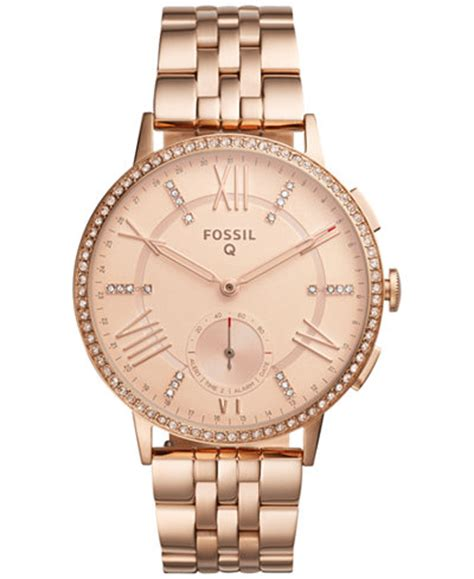 Fossil Q Women's Gazer Rose Gold Tone Stainless Steel