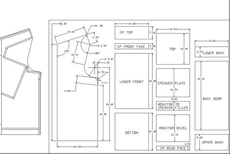 Pacman Cabinet Plans by Pac Or Ms Pac Cabaret Plans Needed Klov Vaps