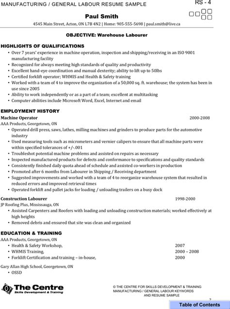 Certified Forklift Operator Sle Resume by Certified Forklift Operator Resume For Free Page 28 Formtemplate