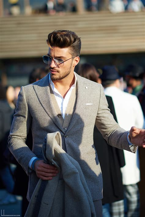 what is mariamo di vaios hairstyle callef pitti uomo 87 florence italy mariano di vaio photo by