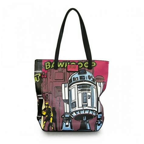 Wars M C 2 Tote Bag 13 loungefly handbags wars r2 d2 faux leather